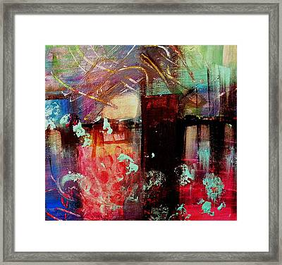 Carbon Footprints Framed Print