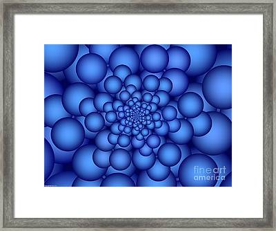 Carbonation Framed Print by TJ Art