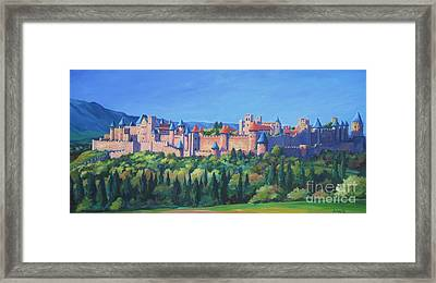 Carcassone   Framed Print by John Clark