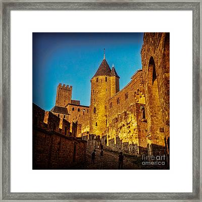 Carcassonne Framed Print by Colin and Linda McKie