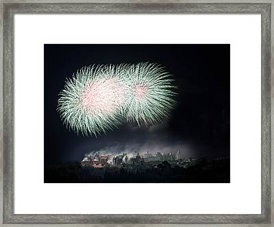 Carcassonne Framed Print by Thierry Boitelle