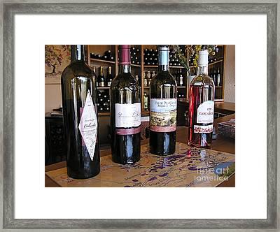 Wine Tasting  Framed Print by France  Art