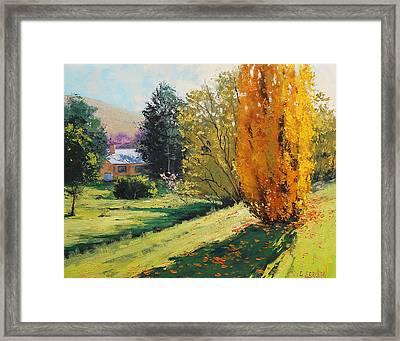 Carcor Autumn Framed Print by Graham Gercken