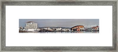 Cardiff Bay Panorama 2 Framed Print