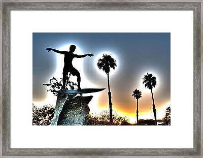 Cardiff Kook Framed Print by Ann Patterson