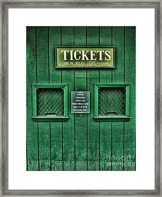Cardines Field Framed Print by Nancy De Flon