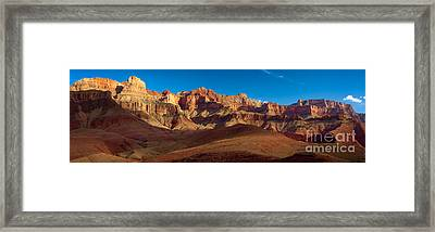 Cardines Panorama Framed Print by Inge Johnsson