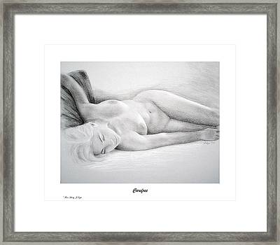 Care Free-print Only Framed Print by Joseph Ogle
