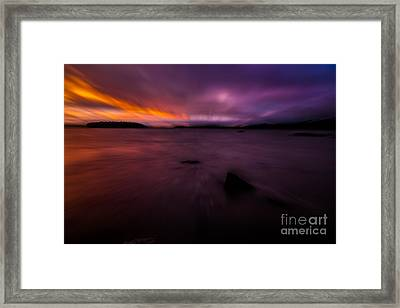 Careening Through Time Framed Print by Susan Cole Kelly Impressions