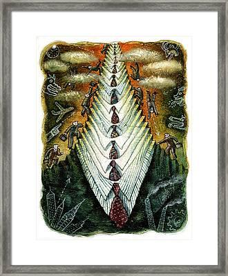 Career Framed Print by Leon Zernitsky