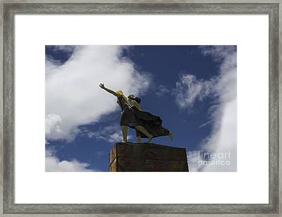 Carefree Framed Print by Al Bourassa