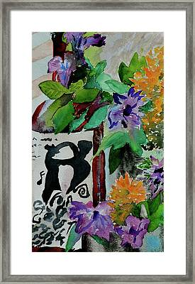 Framed Print featuring the painting Carefree by Beverley Harper Tinsley