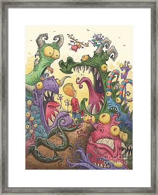 Careful With That Axe Eugene Framed Print by Fian Arroyo