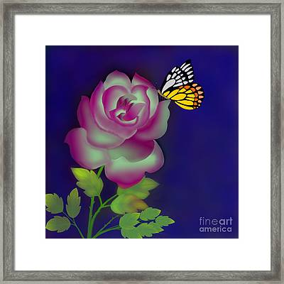 Careless Whisper Framed Print by Latha Gokuldas Panicker