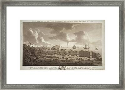 Carenage Bay Framed Print by British Library