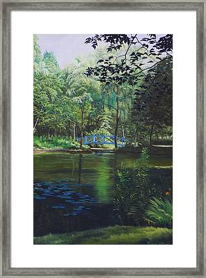 Carey's Pond Framed Print by Kenneth Young