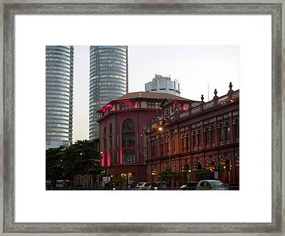 Cargills Department Store At Right Framed Print by Panoramic Images