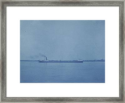 Cargo, Port Huron, Michigan, United States Framed Print