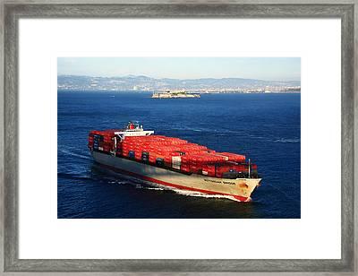 San Francisco Bay Framed Print by Aidan Moran