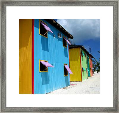 Caribbean Color Framed Print by Randall Weidner