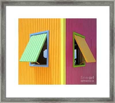 Caribbean Corner 3 Framed Print by Randall Weidner