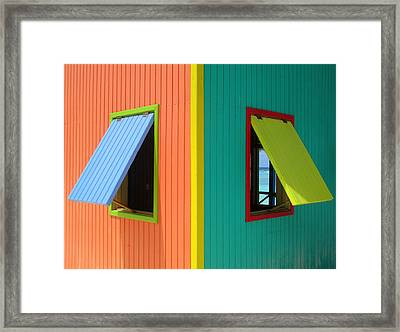 Framed Print featuring the photograph Caribbean Corner 4 by Randall Weidner