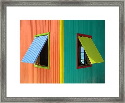 Caribbean Corner 4 Framed Print