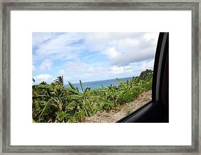 Caribbean Cruise - Barbados - 1212113 Framed Print