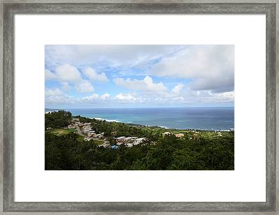 Caribbean Cruise - Barbados - 1212119 Framed Print