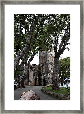 Caribbean Cruise - Barbados - 1212121 Framed Print by DC Photographer