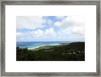 Caribbean Cruise - Barbados - 1212126 Framed Print