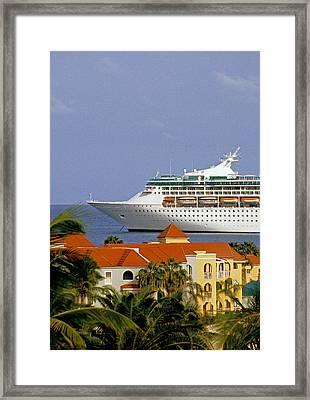 Caribbean Cruise Framed Print by Dennis Cox WorldViews