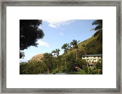 Caribbean Cruise - Dominica - 1212116 Framed Print
