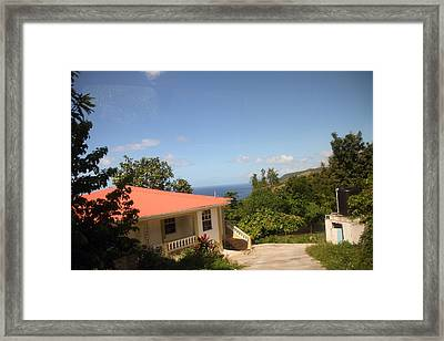 Caribbean Cruise - Dominica - 121243 Framed Print by DC Photographer