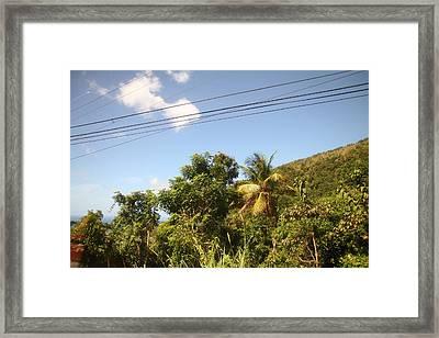 Caribbean Cruise - Dominica - 121285 Framed Print