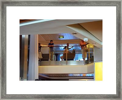 Caribbean Cruise - On Board Ship - 1212117 Framed Print by DC Photographer