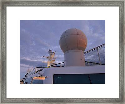 Caribbean Cruise - On Board Ship - 1212206 Framed Print by DC Photographer