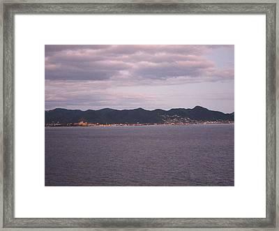 Caribbean Cruise - On Board Ship - 1212208 Framed Print by DC Photographer