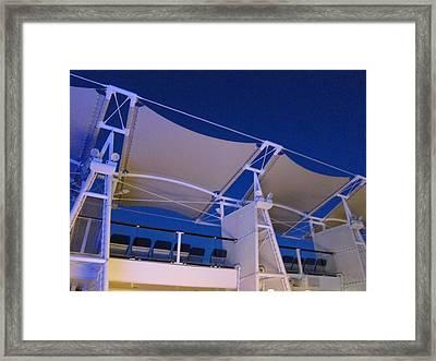 Caribbean Cruise - On Board Ship - 121236 Framed Print by DC Photographer