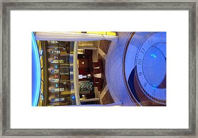 Caribbean Cruise - On Board Ship - 12126 Framed Print