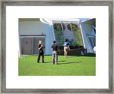 Caribbean Cruise - On Board Ship - 121297 Framed Print by DC Photographer