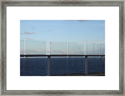 Caribbean Cruise - St Kitts - 1212121 Framed Print by DC Photographer