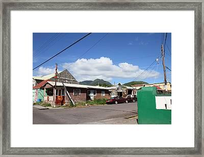 Caribbean Cruise - St Kitts - 1212138 Framed Print by DC Photographer