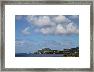 Caribbean Cruise - St Kitts - 1212156 Framed Print by DC Photographer