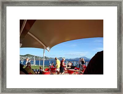 Caribbean Cruise - St Kitts - 121284 Framed Print by DC Photographer