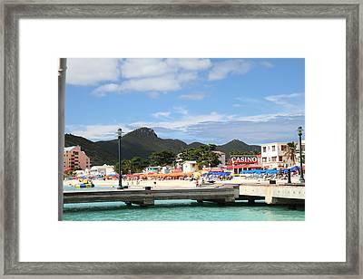 Caribbean Cruise - St Maarten - 121235 Framed Print by DC Photographer