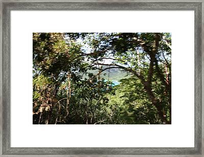 Caribbean Cruise - St Thomas - 1212102 Framed Print by DC Photographer