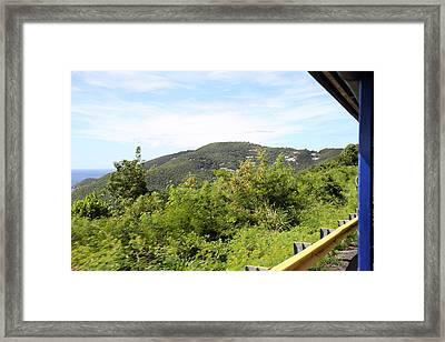Caribbean Cruise - St Thomas - 1212127 Framed Print by DC Photographer