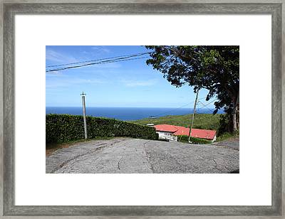 Caribbean Cruise - St Thomas - 1212156 Framed Print by DC Photographer
