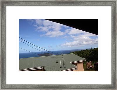 Caribbean Cruise - St Thomas - 1212170 Framed Print